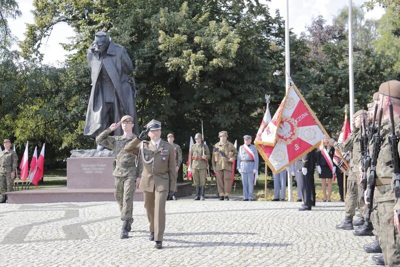 W środę, 14 sierpnia, żołnierze Garnizonu Gdańsk rozpoczęli, lokalnie, obchody Święta Wojska Polskiego
