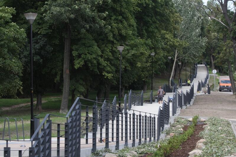 Przed dwoma laty Miasto wyremontowało schody przy ul. Starodworskiej