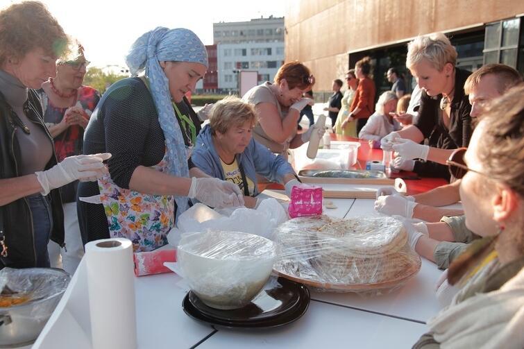 Tajniki kuchni czeczeńskiej przybliżyła Khedi Alieva z Fundacji Kobiety Wędrowne