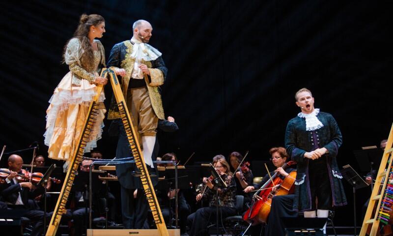 Scena główna Mozartiany jak zwykle stanie w Parku Oliwskim. Koncerty rozpoczną się tu już