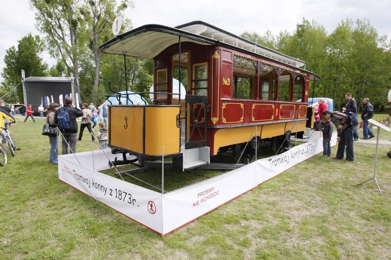 Tramwaj konny niezwykle rzadko jest eksponowany, ponieważ to najstarszy historyczny tramwaj w posiadaniu którego jest Gdańsk