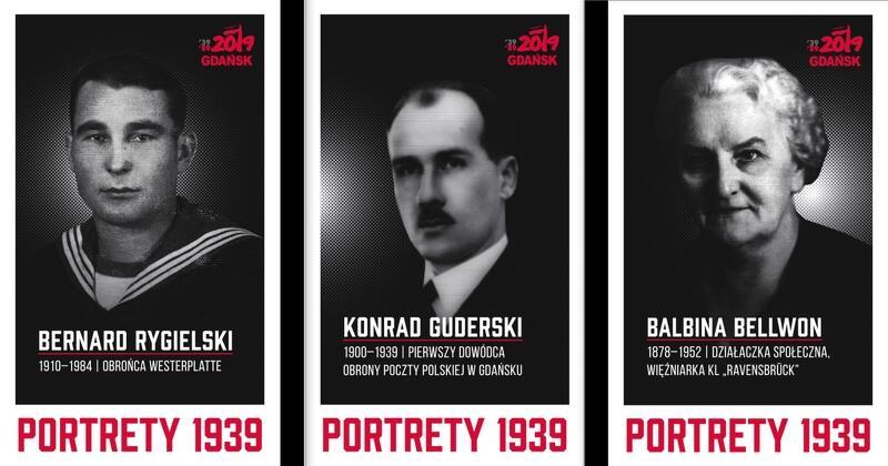 Janusz Marszalec z Muzeum Gdańska: - Postaci, które pojawiły się na portretach są ofiarami pierwszego etapu wojny, roku 1939