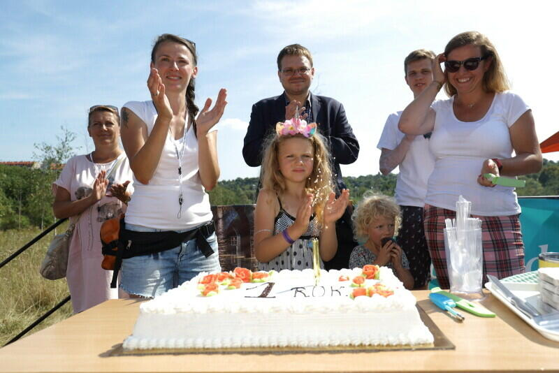 """Festyn Rodzinny """"Święto Dzielnicy"""", podczas którego Orunia Górna Gdańsk Południe świętowała rok istnienia, odbyło się w sobotę, 24 sierpnia, 2019 r."""