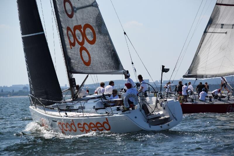 W regatach na Zatoce Gdańskiej rywalizowało 18 jachtów