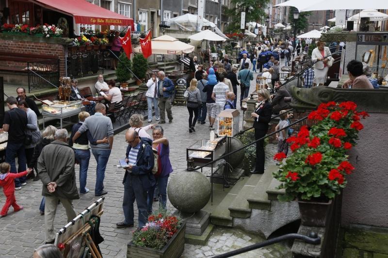 Święto ulicy Mariackiej co roku przyciąga tłumy miłośników Gdańska i bursztynu