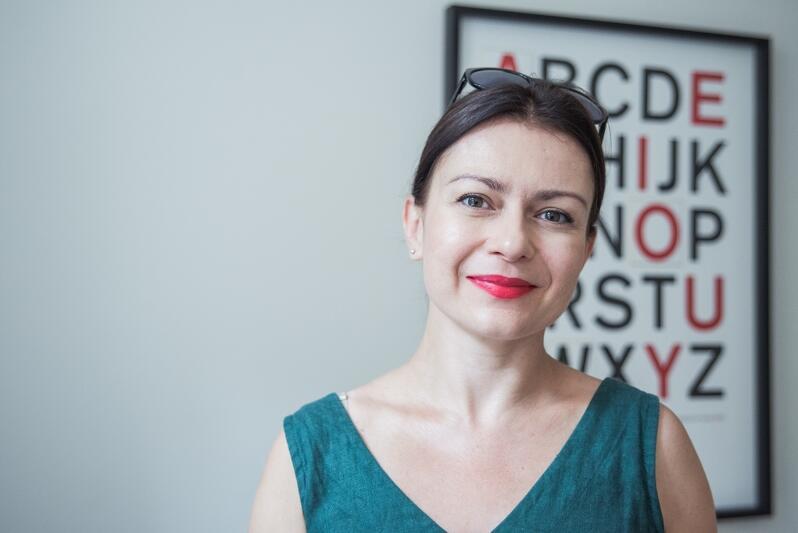 Joanna Sławkowska-Marszeniuk od 12 lat prowadzi Akademię Języka Polskiego, pierwszą w Gdańsku (a drugą w Trójmieście) taką szkołę językową