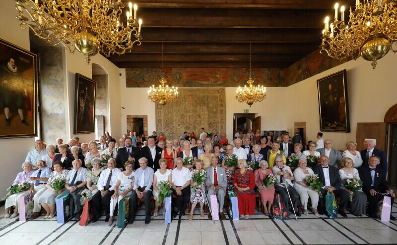 Uroczystość odbyła się w Wielkiej Sali Wety Ratusza Głównego Miasta