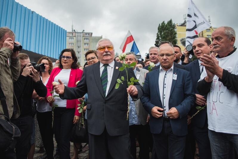 Do uczestników uroczystości przemówi przywódca strajku sprzed 39 lat Lech Wałęsa