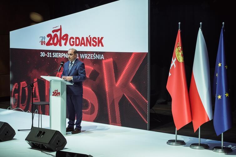 - ECS to polityczne i intelektualne dziecko Pawła Adamowicza - przypomniał Basil Kerski, dyrektor ECS w piątą rocznicę otwarcia siedziby Europejskiego Centrum Solidarności