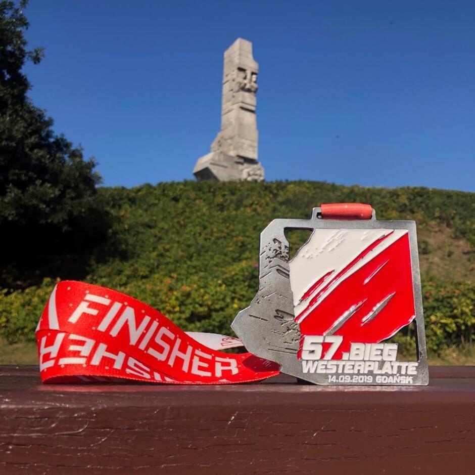 Tegoroczny medal 57. Biegu Westerplatte prezentuje się doskonale.