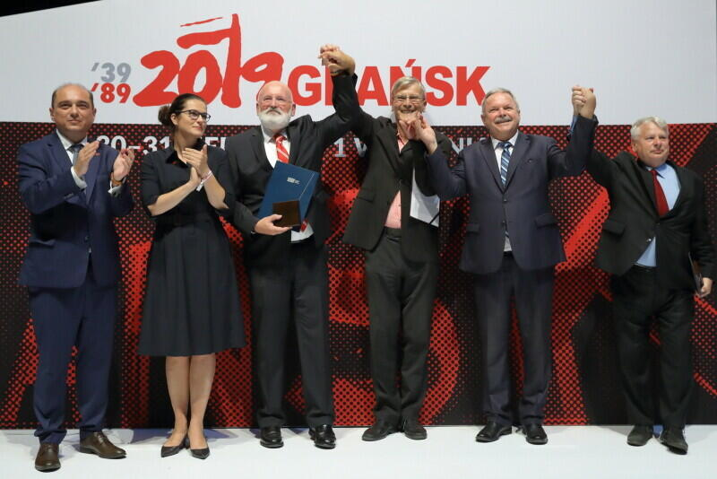 Medale Wdzięczności wręczono laureatom podczas uroczystości w Europejskim Centrum Solidarności w sobotę, 31 sierpnia - w 39. rocznicę Porozumień Sierpniowych