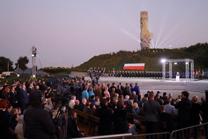 Główne uroczystości związane z obchodami 80. rocznicy wybuchu drugiej wojny światowej odbywały się na Westerplatte
