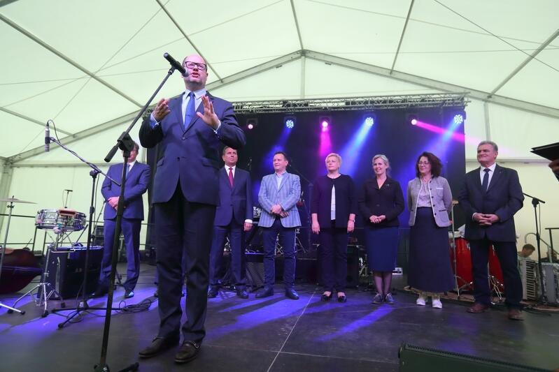 Paweł Adamowicz, pomysłodawca Wilna w Gdańsku , co roku uroczyście otwierał festiwal. W tym roku zrobi to Aleksandra Dulkiewicz, następczyni Pawła Adamowicza