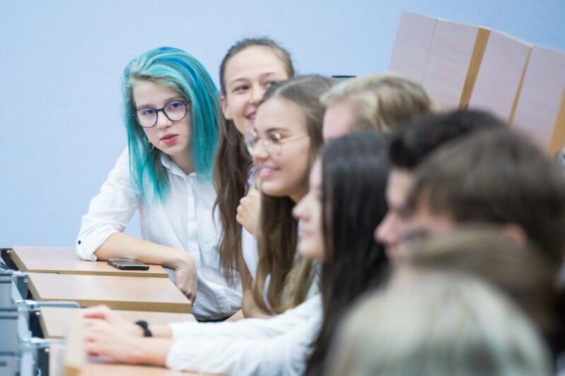 Nowa szkoła, nowe środowisko, nowe nadzieje i nowe marzenia
