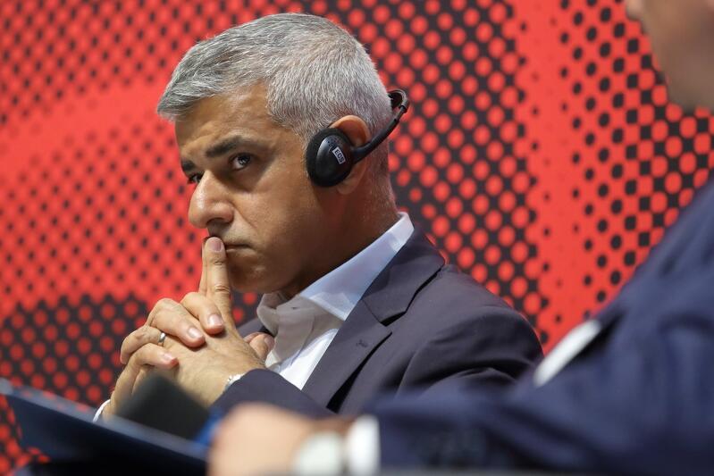 Sadiq Khan jest burmistrzem Londynu od 2016 r.