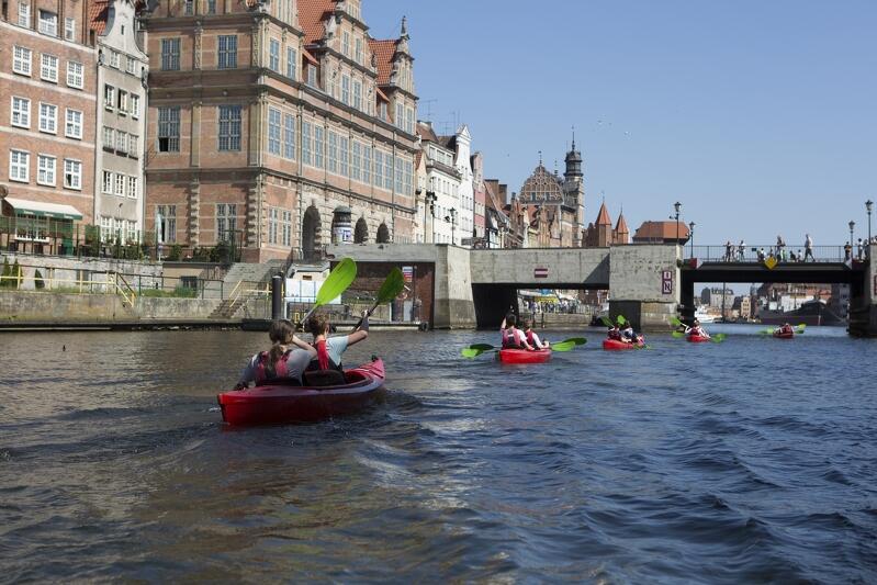 Kajakarzy najczęściej można spotkać na Motławie. W sobotę, 7 września, około sto osób będzie płynęło w okolicach Wyspy Sobieszewskiej. Chętni mogą jeszcze dołączyć