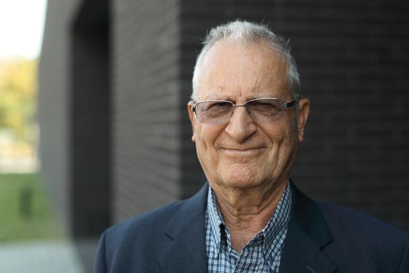 83-letni Gideon Lotan po blisko 80 latach odwiedził miasto, w którym się urodził