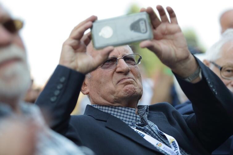 Jak przyznaje 83-latek, jest on pod wrażeniem tego, jak odbudowano po wojnie Gdańsk