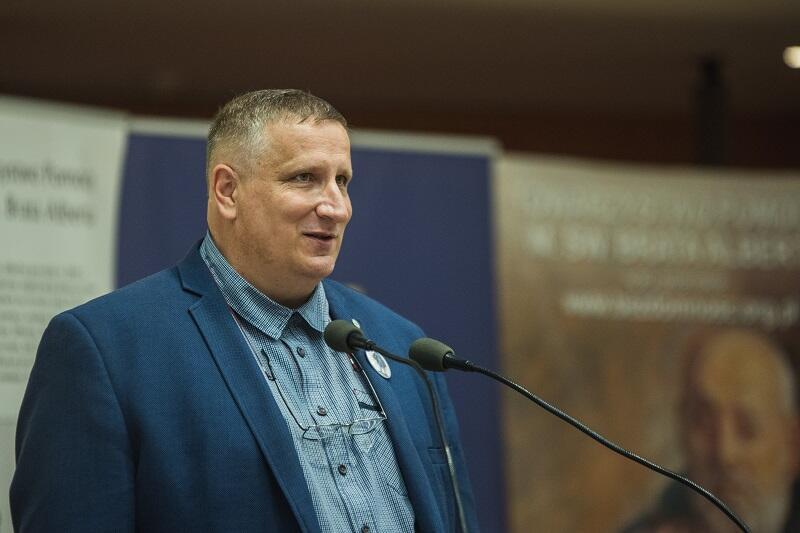 Wojciech Bystry prezes zarządu Towarzystwa Pomocy im. św. Brata Alberta koło Gdańsk