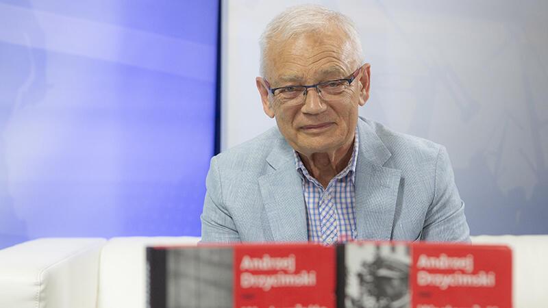 Dr Andrzej Drzycimski podczas wizyty w naszej redakcji