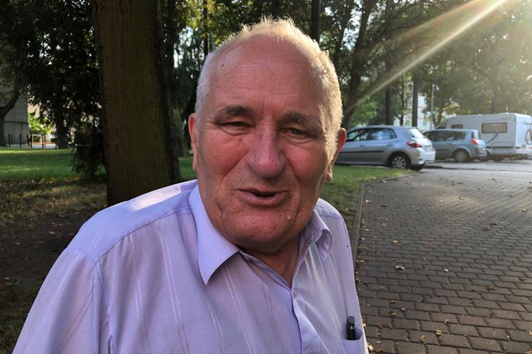 Romuald Karaś gościł w Gdańsku, by wziąć udział w obchodach 80. rocznicy wybuchu wojny na Westerplatte