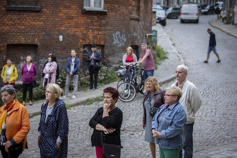 Publiczność II Święta Ulicy Biskupiej w Gdańsku