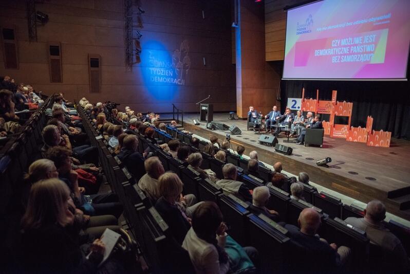 Debata prezydentów podczas Gdańskiego Tygodnia Demokracji w 2017 r.