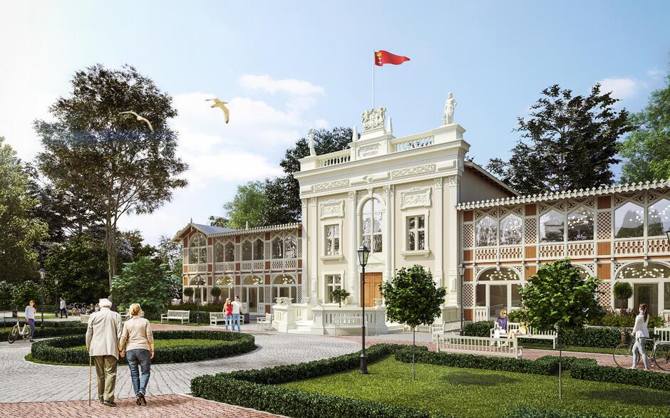 Tak ma wyglądać Dom Zdrojowy w Brzeźnie w 2021 roku