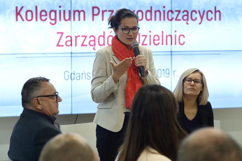 10 września odbyło się pierwsze powakacyjne Kolegium Przewodniczących Rad Dzielnic z udziałem Prezydent Aleksandry Dulkiewicz