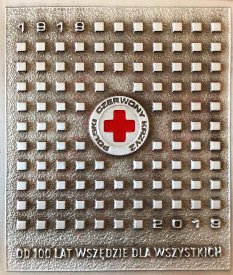 Medal 100-lecia Polskiego Czerwonego Krzyża