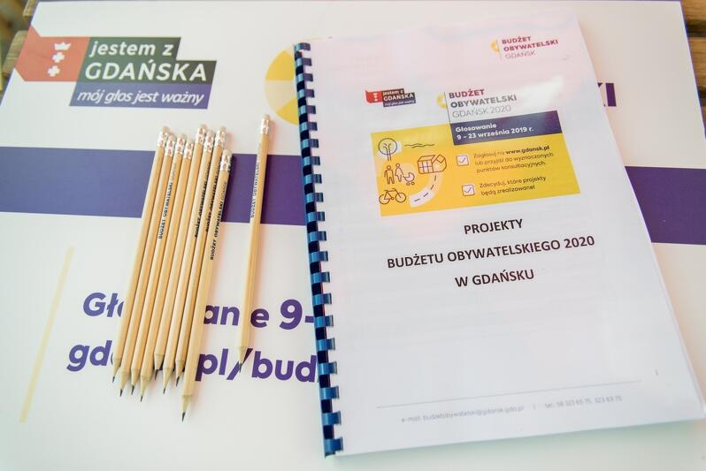 Na jaki projekt BO 2020 zagłosować? Wszystkie można znaleźć na stronie www.gdansk.pl bądź w namiotach Budżetu Obywatelskiego na terenie miasta