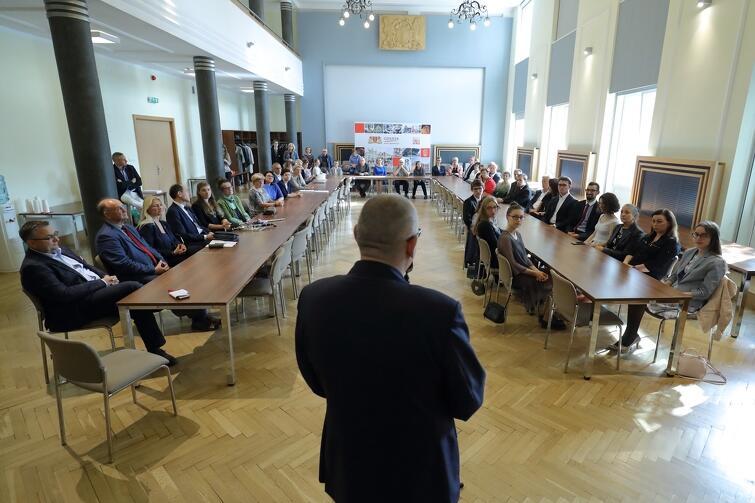 Uroczyste wręczenie stypendiów odbyło się w Urzędzie Miejskim w Gdańsku