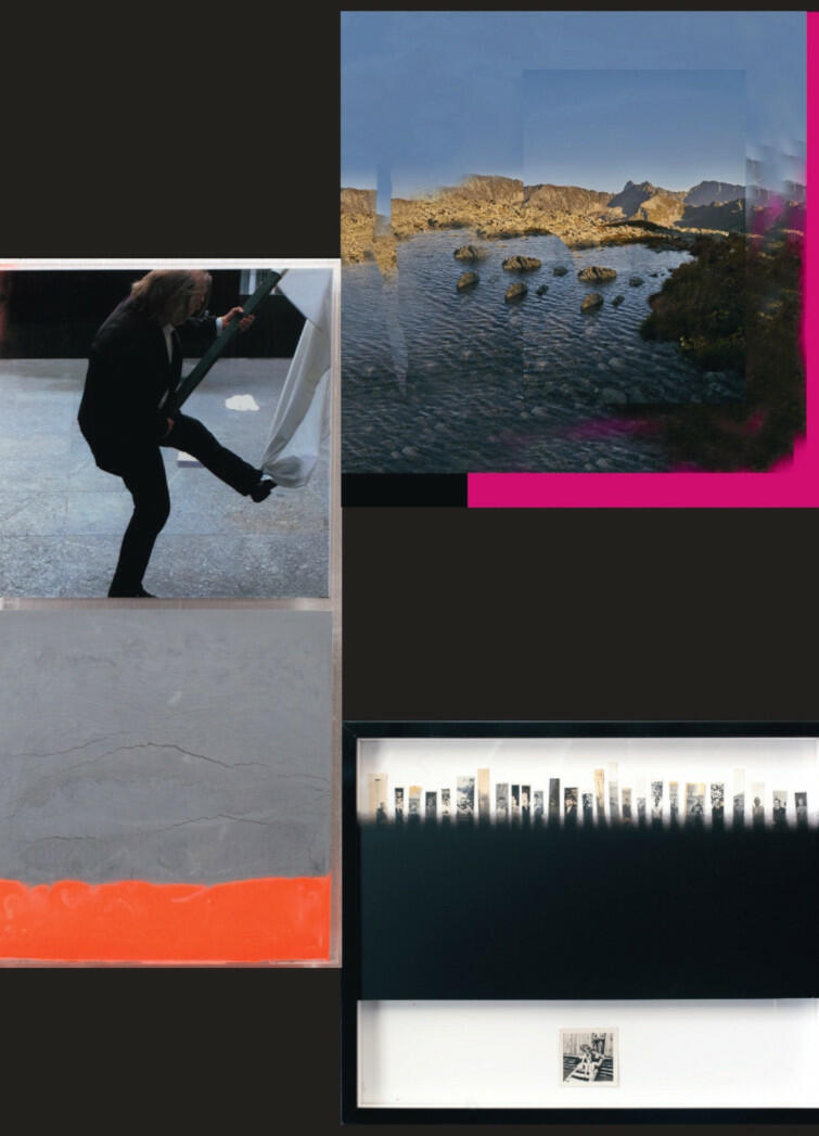 """""""Trzy lub dwa"""" to nowa wystawa w gdańskiej Łaźni, łącząca różne dziedziny, takie jak fotografia, malarstwo i artystyczny eksperyment"""