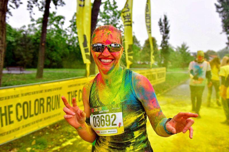 The Color Run po raz pierwszy organizowany jest w Gdańsku