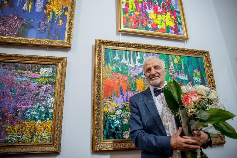 Gagik Parsamian świętował w piątek, 13 września, 35-lecie swojej twórczości artystycznej