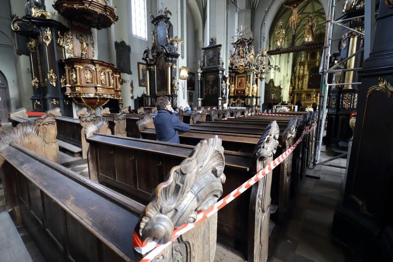 Bazylika św. Mikołaja w dniu zamknięcia - 30 października 2018 roku