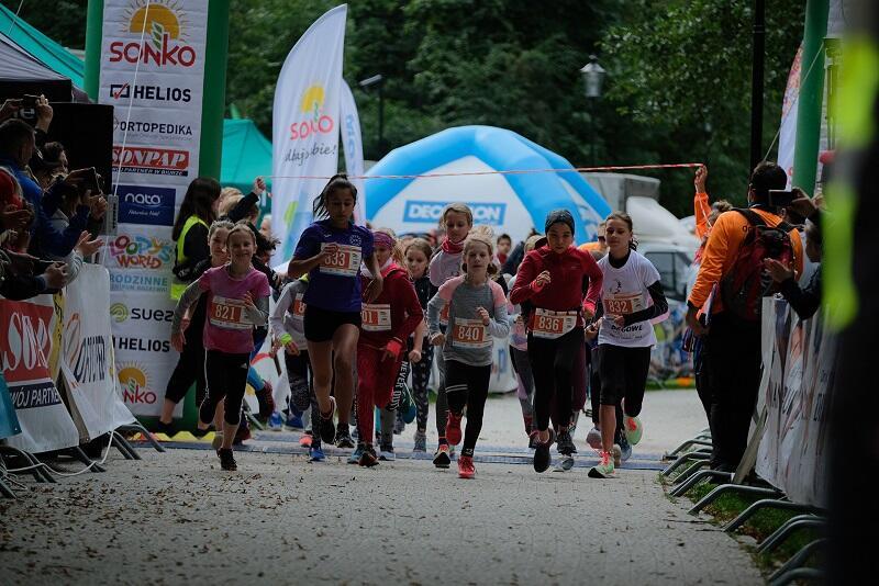 IV etap Biegowego Grand Prix Dzielnic Gdańska odbył się w Parku Oruńskim