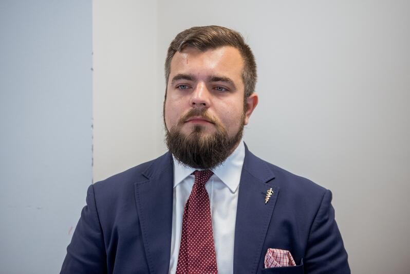 Michał Urbaniak - KW Konfederacja Wolność i Niepodległość