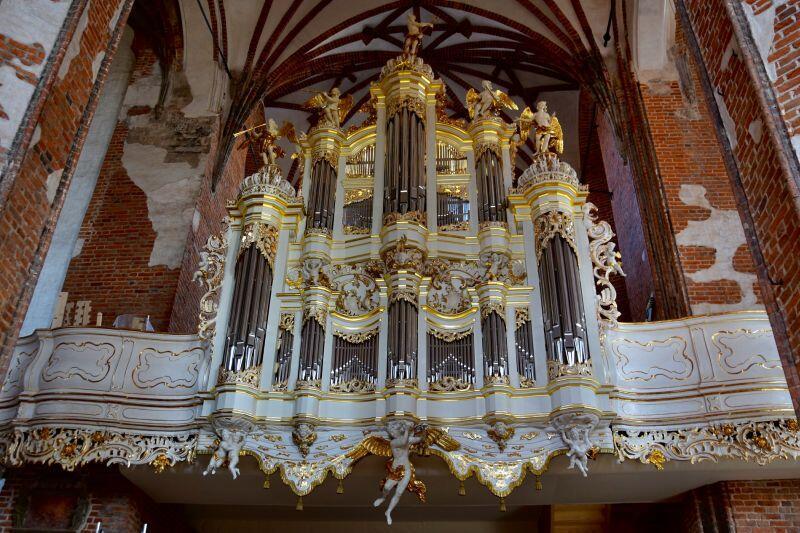Zabytkowe organy w Kościele Św. Jana