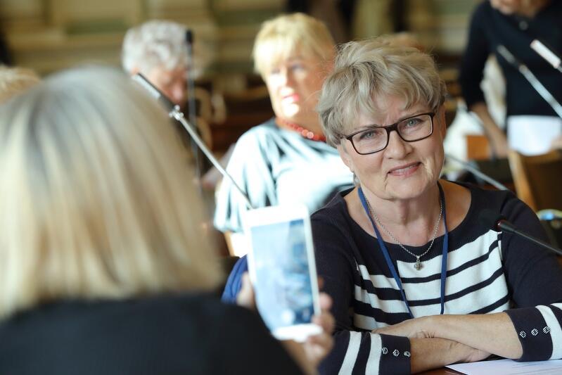 Rada Seniorów Miasta Gdańska, jedno z posiedzeń
