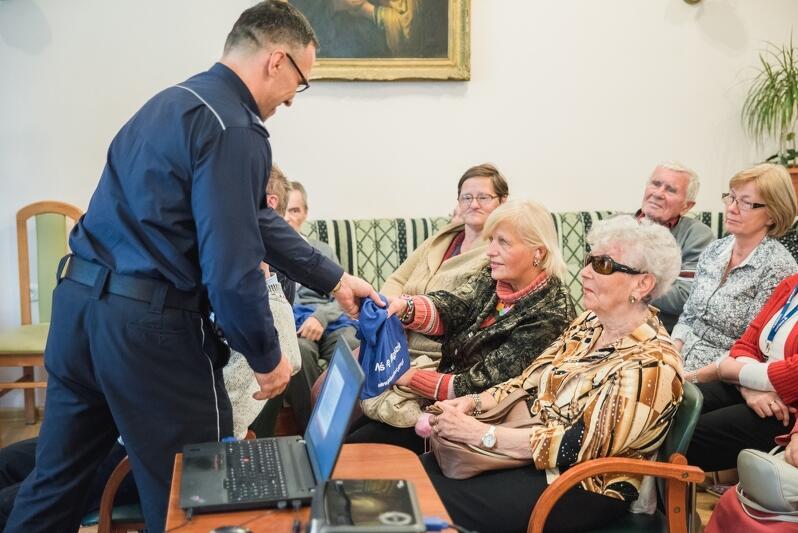 Spotkania funkcjonariuszy policji z seniorami to już tradycja w Gdańsku