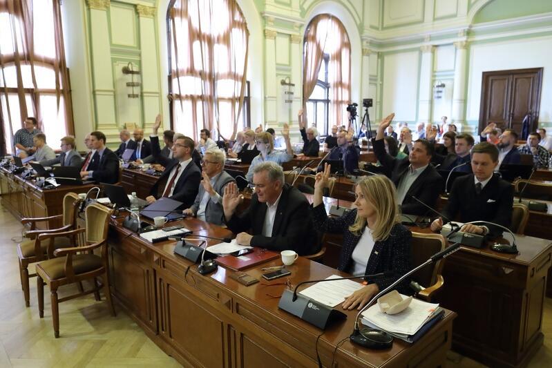 Obrady Rady Miasta Gdańska