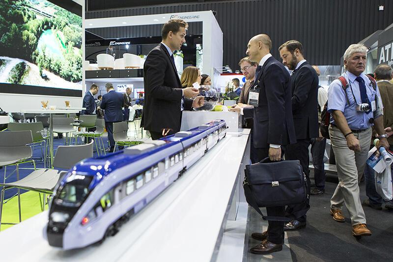 Międzynarodowe Targi Kolejowe TRAKO odbywają się w 2019 r. po raz 13