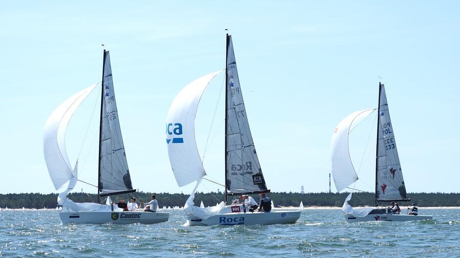 Podczas mistrzostw Polski w klasie Micro wystartuje kilkanaście jachtów, w tym medaliści mistrzostw świata