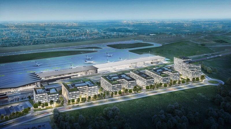 Kompleks bezpośrednio przylegać będzie do lotniskowego terminalu