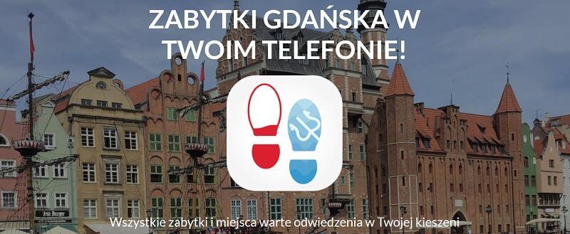 Strona główna aplikacji Zwiedzajgdansk.pl