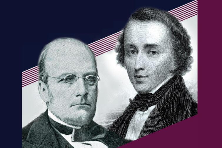 Stanisław Moniuszko i Fryderyk Chopin