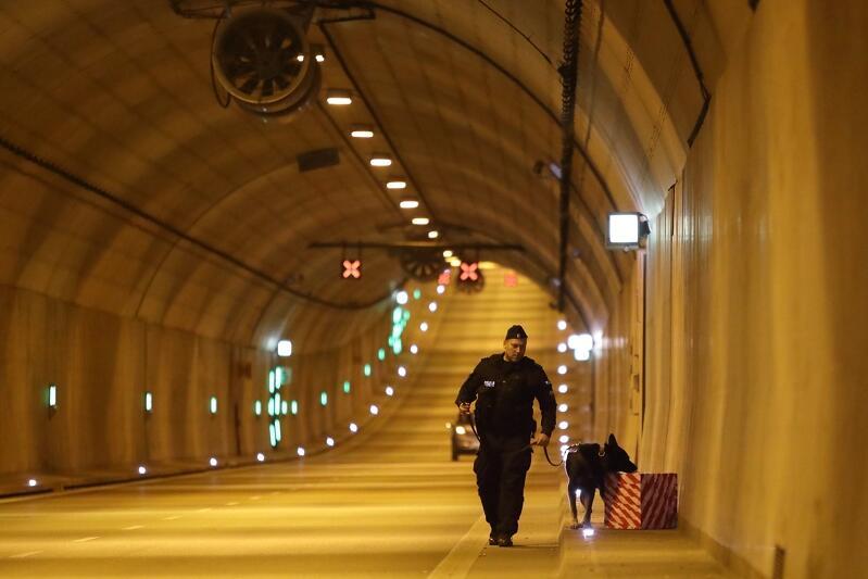 Ćwiczenia obronne IMPAS odbywały się m.in. w tunelu pod Martwą Wisłą
