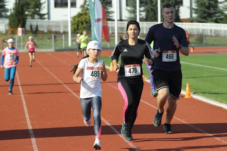 W Gdańsku około 90 procent uczestników przebiega ponad 2 km