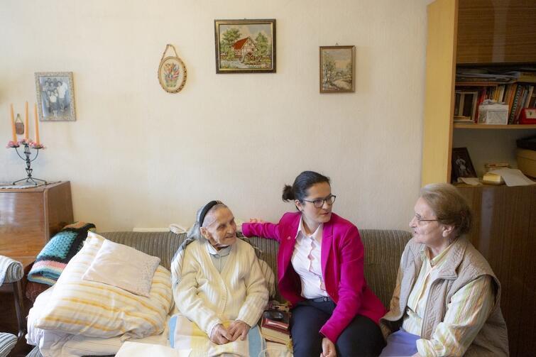 Pani Ema gdańszczanką jest od 15. lat - dołączyła do córki, która mieszka tu od prawie 60. lat